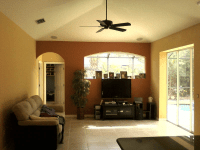 Sarasota Family Room Painter   Family Room Painted by ...