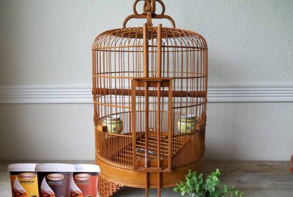 Plitur Sangkar Burung Biovarnish