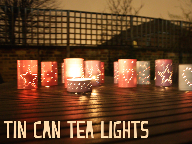 Tin Can Tea Lights