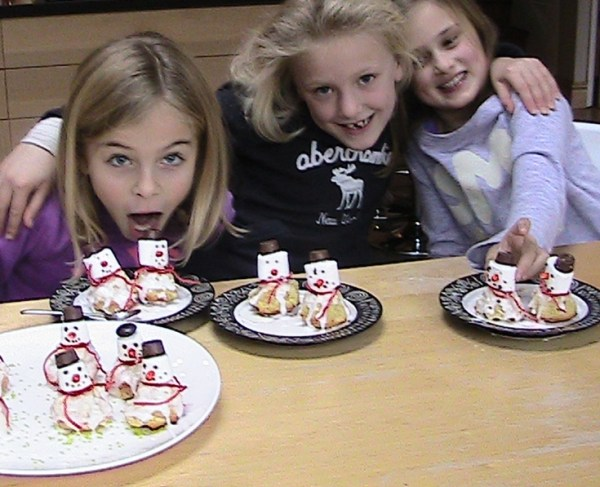 How To Make Easy Snowman Cakes