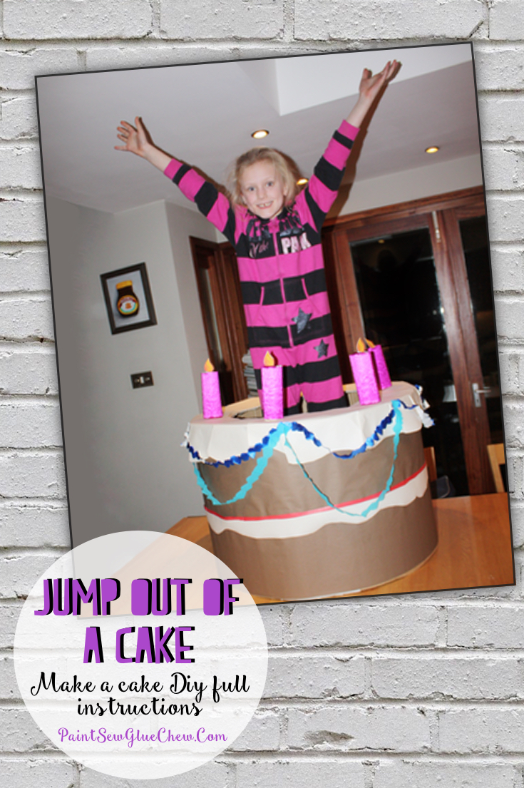 Make Your Own Cake To Jump Out Of