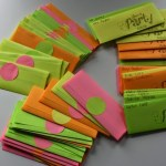 Neon envelope diy tutorial