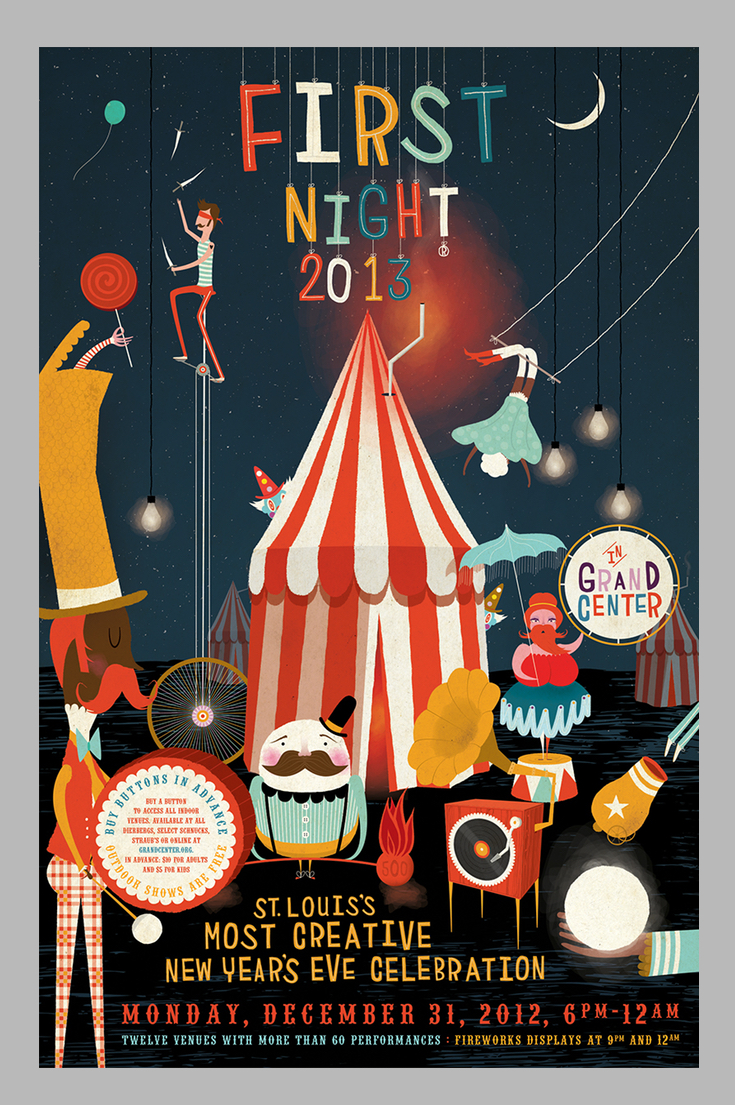 Circus Art Ideas