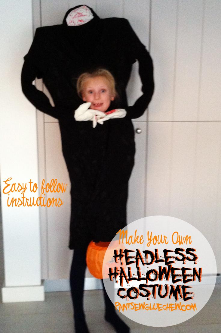sc 1 st  PaintSewGlueChew & Headless halloween costume - PaintSewGlueChew