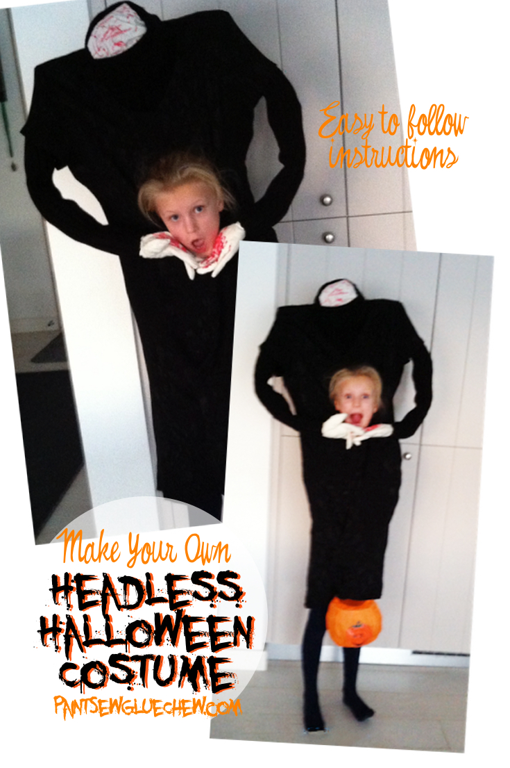 Headless Halloween Costume  sc 1 st  PaintSewGlueChew & Headless halloween costume - PaintSewGlueChew