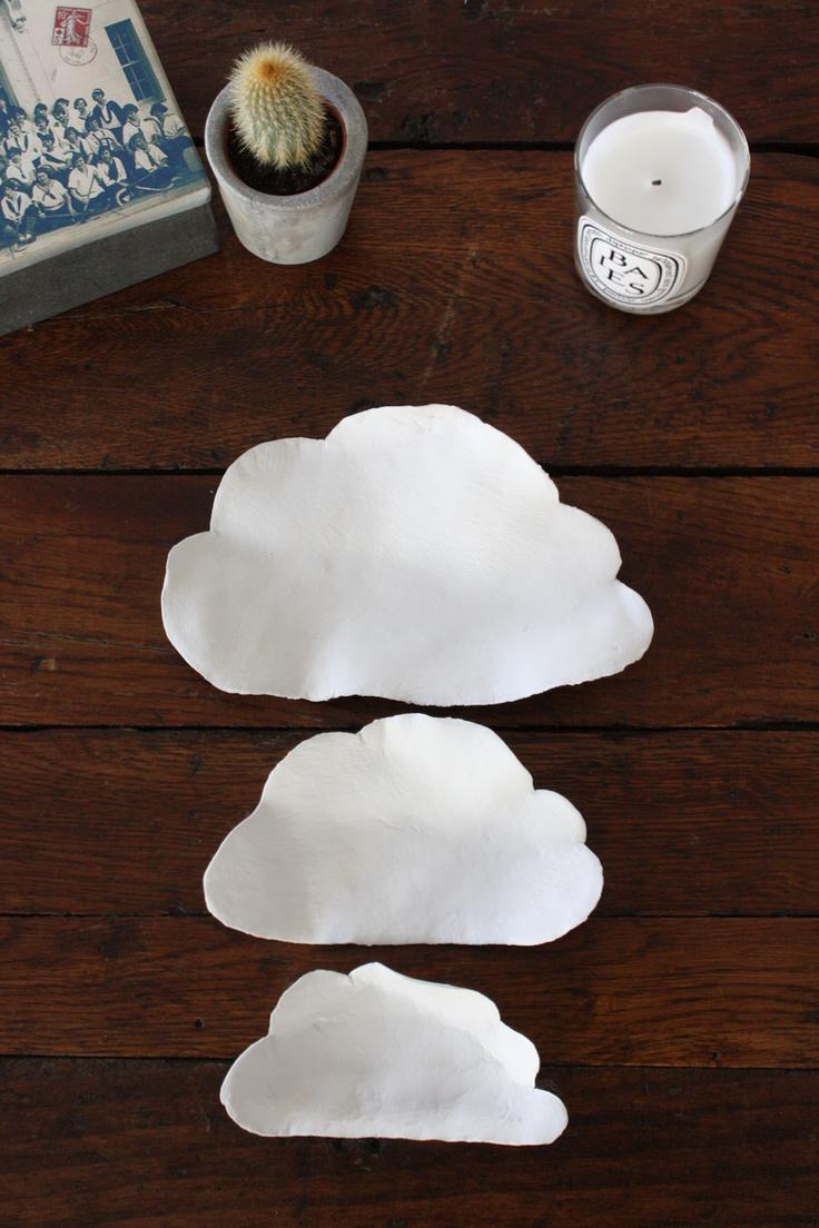 cloud dishes trio