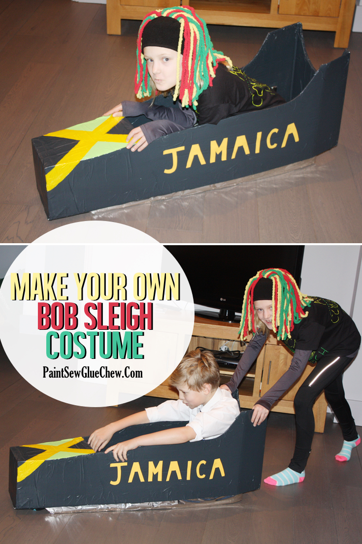 How to make a bobsleigh costume