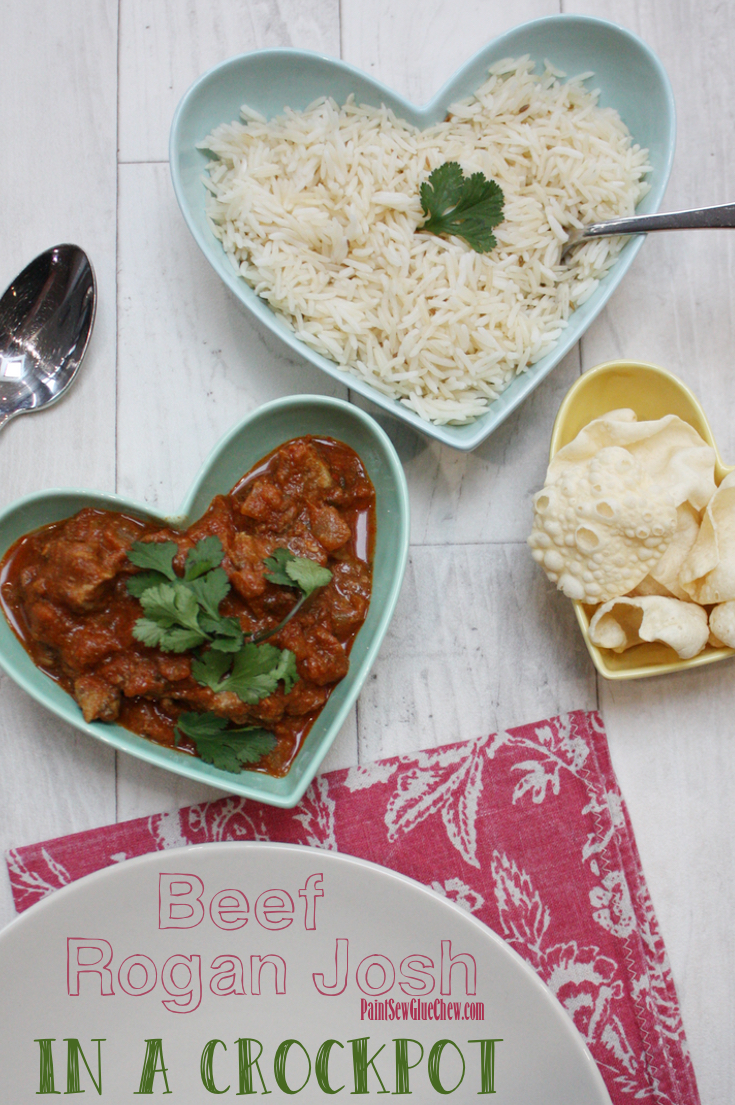 Rogan Josh in a slow cooker