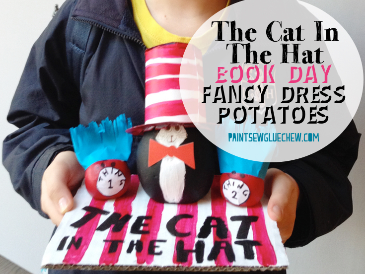 National Book Day Fancy Dress Costumes For Potatoes