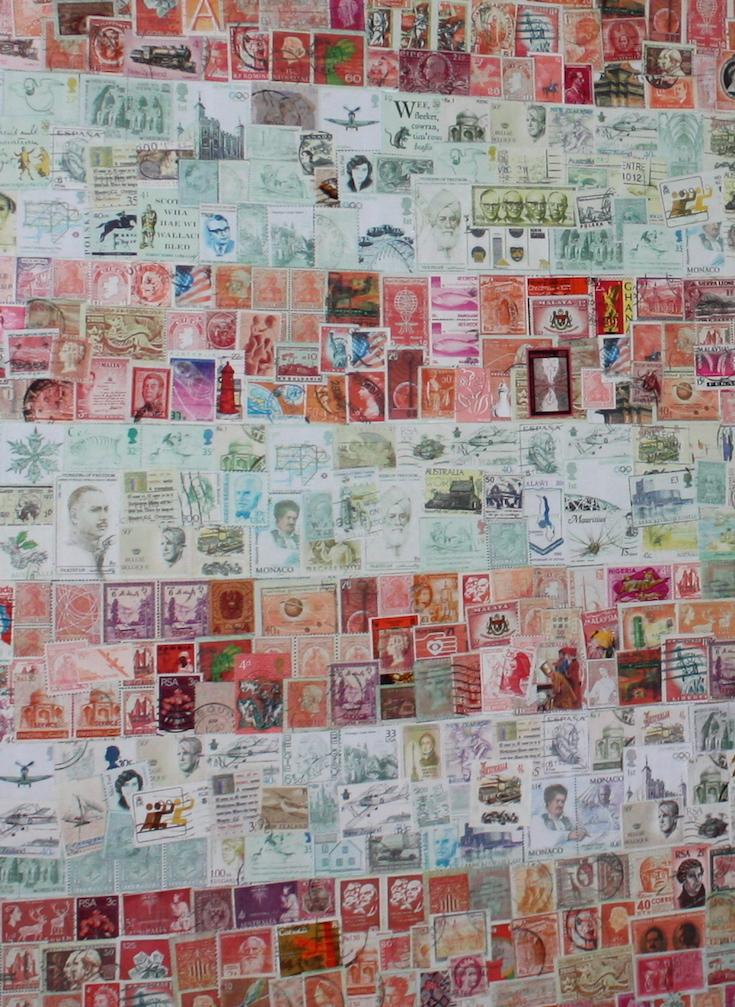 Stamp stripes
