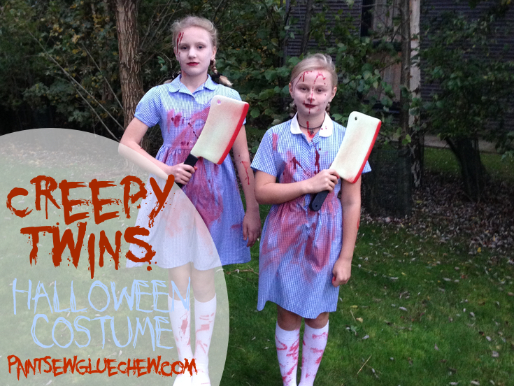 Creepy Twins Halloween Costume