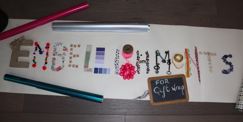 creative gift wrap embellishment