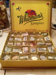 Chocolate Box Money Gift Idea