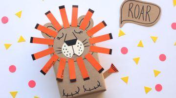 Lion Gift Wrap