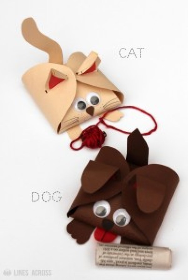 Dog and Cat Gift Wrap
