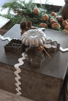 Vintage baking gift wrap