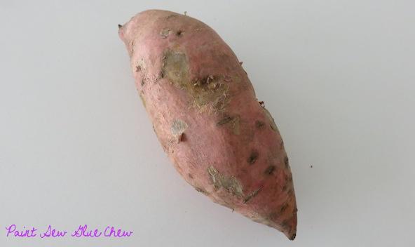 Sweet Potato and Parma Ham Nibbles