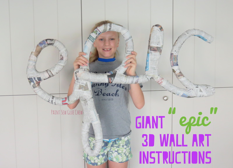 Epic Wall Art Instructions