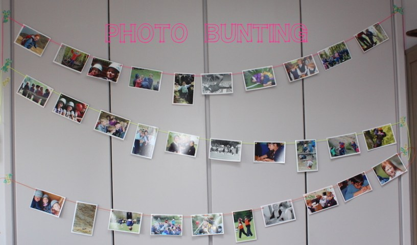 photo bunting instructions