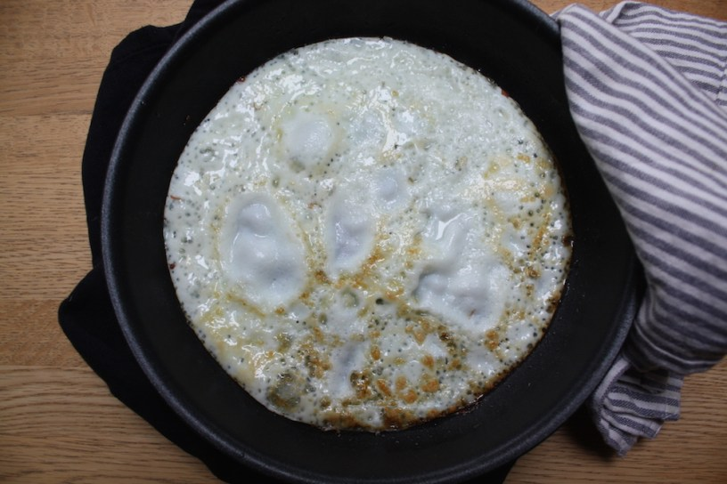 fried egg whites