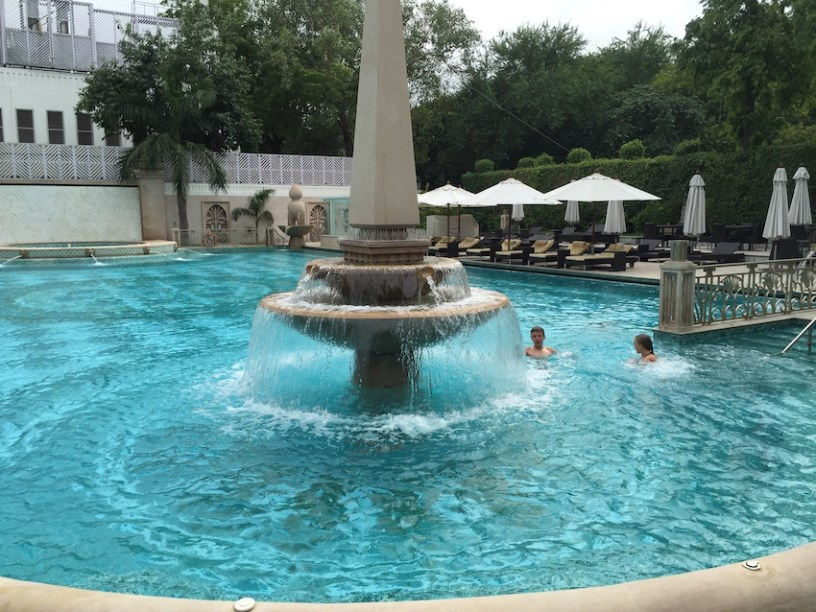 Imperial hotel swimming pool