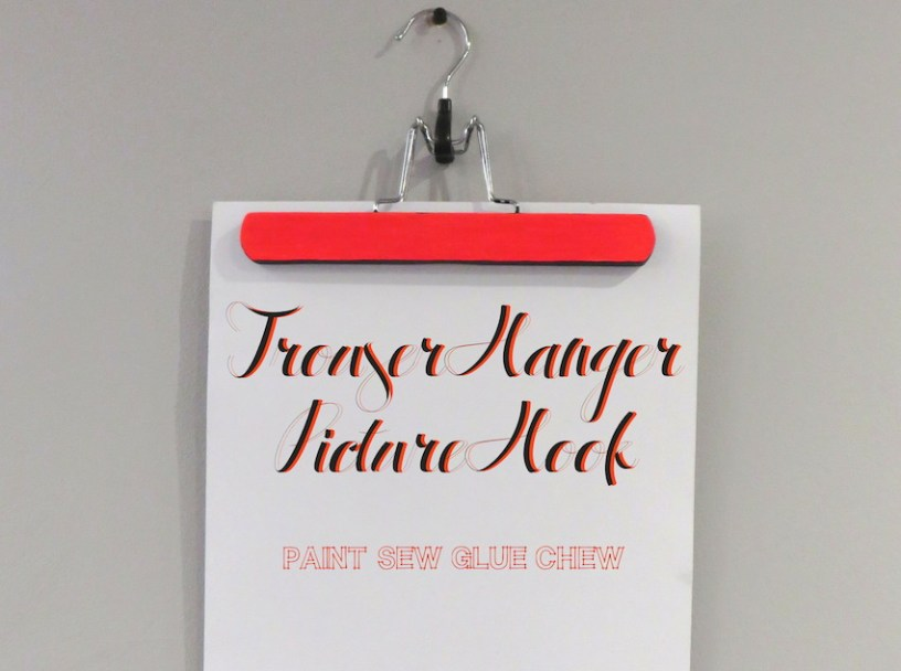 Trouser hanger Picture Hook