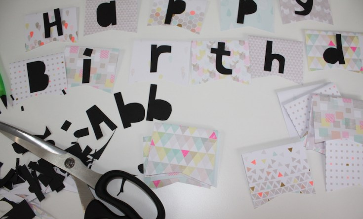 Bunting Instructable