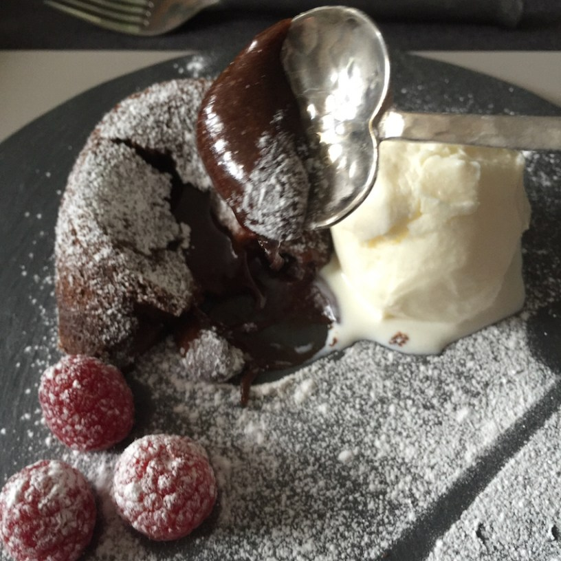 ultimate molten chocolate pudding