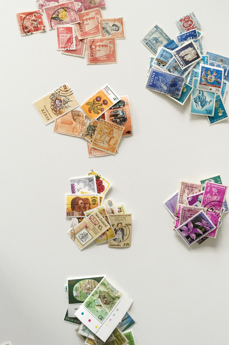 piles of stamps