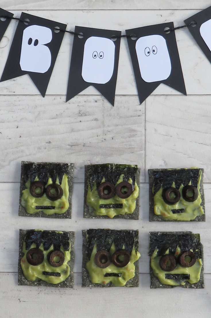 Frankenstein Canapes