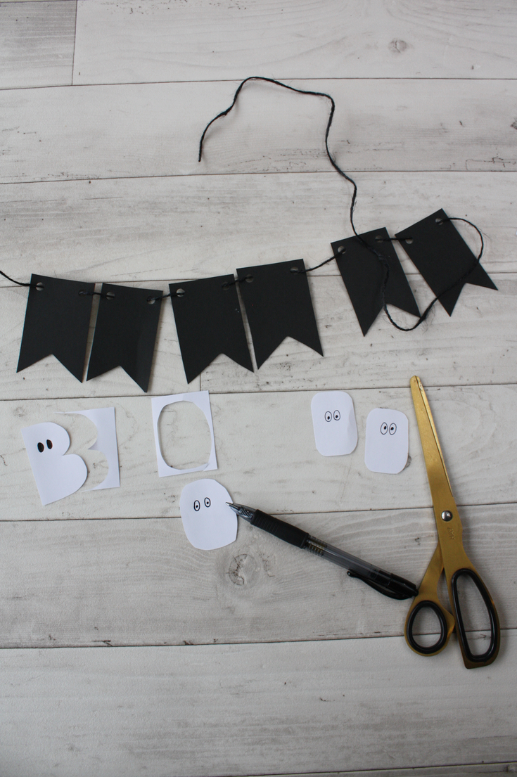 Halloween Garland - 3 Easy Ideas