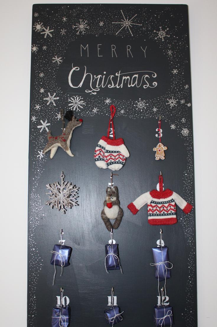 Diy Reusable Advent Calendar : Diy reusable advent calendar paintsewgluechew