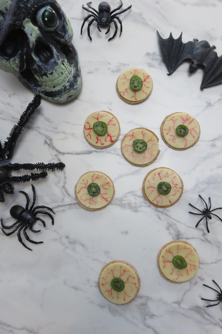 Halloween Eyeball Canapes