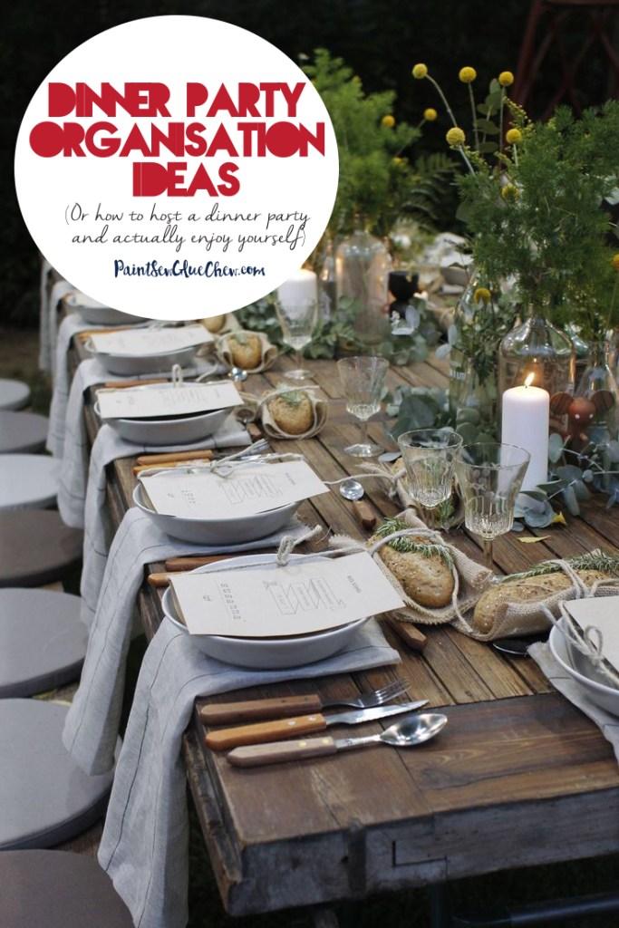 Dinner Party Organisation