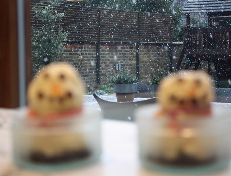 Snowman Icecreams