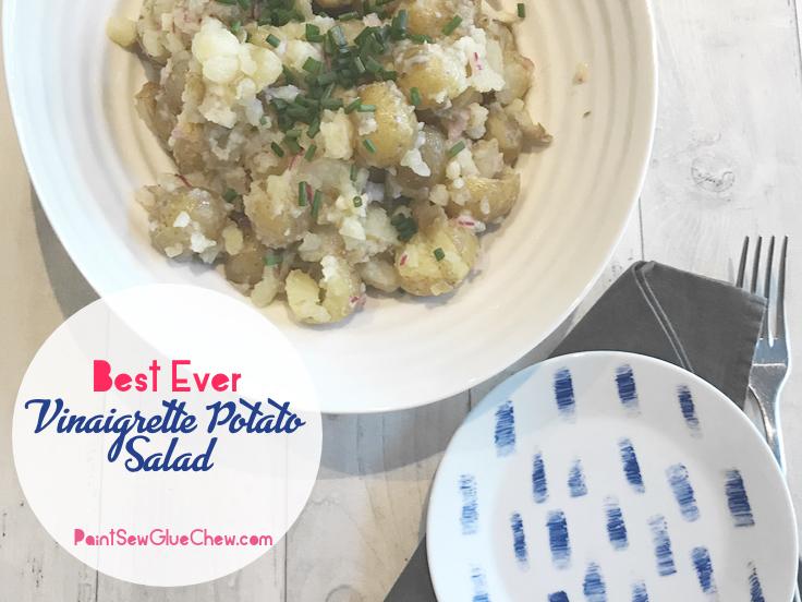 Best ever potato vinaigrette salad