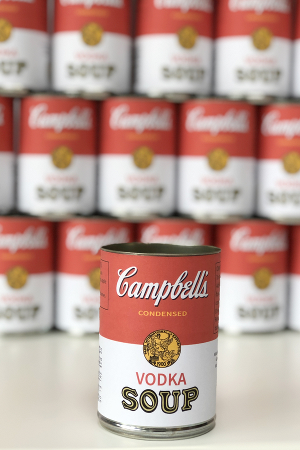 Printable label for campbells soup cans