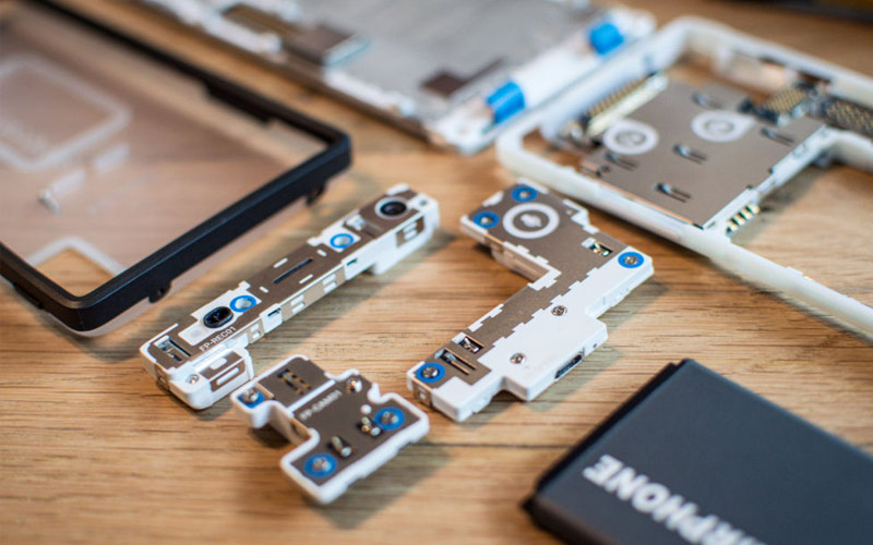 Fairphone - Mobile Internal Design ICONOGRAPHY Elements PAINTSHOP