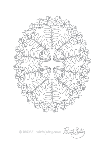 Free Adult Coloring Pages PaintSpring