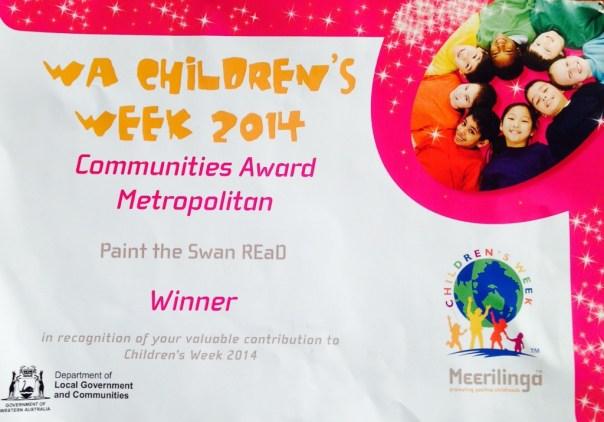 Children's Week Award