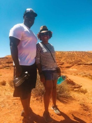 couple standing in heat for lower antelope county