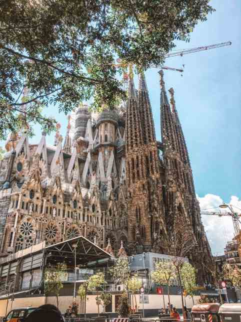 You can not visit Barcelona without visiting the Sagrada Familia. 8 things to do in Barcelona with kids.