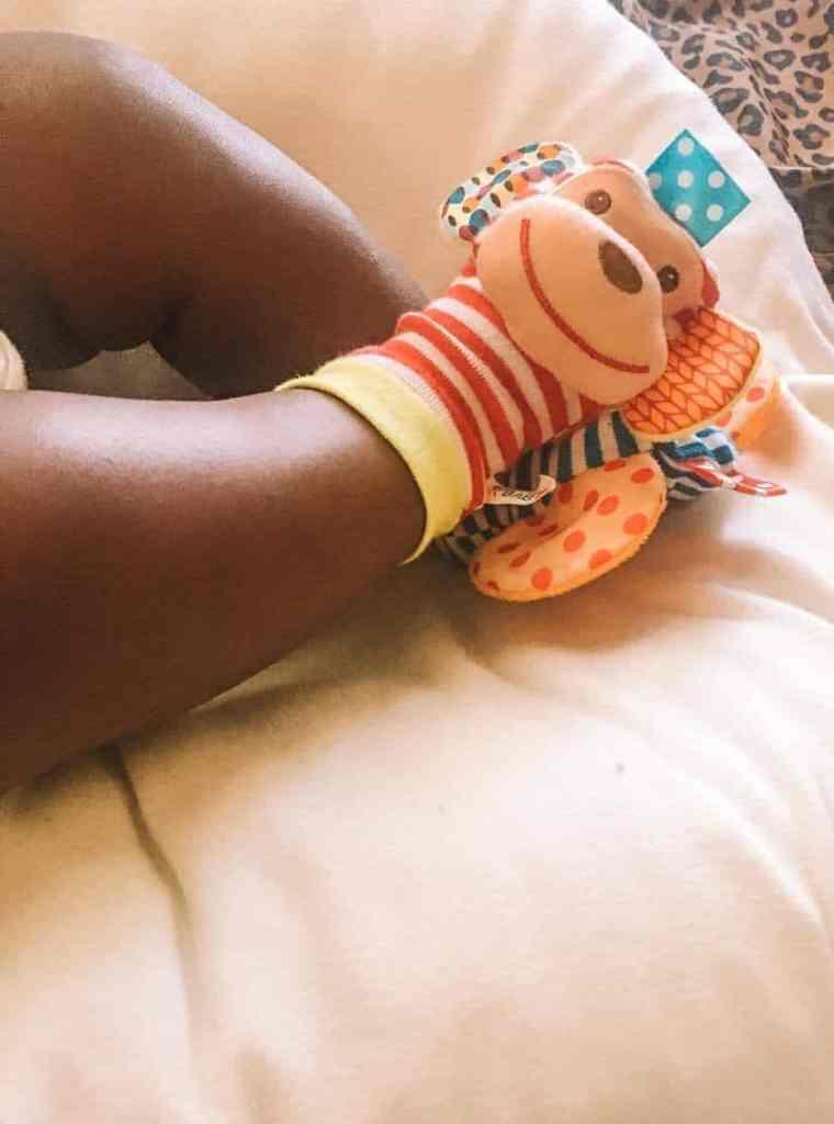 Sensory baby socks