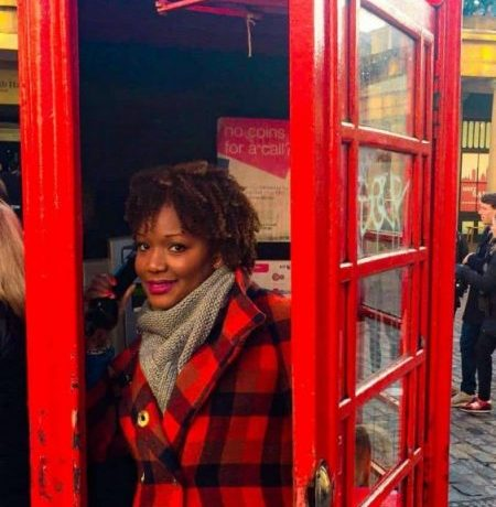 Inside London's famous phone booth