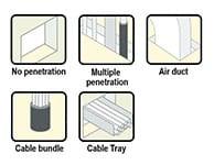 Firestop Brick applications