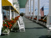 Mackinac Island State Park Paint Landscape