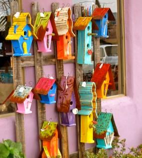 Funky birdhouses
