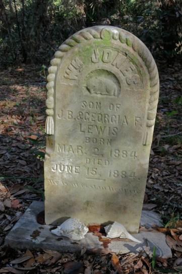 The old cemetery - Atsena Otie Key