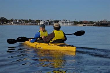 Barb & Jim heading back to Cedar Key
