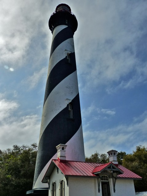 St Augustine Lighthouse, where an episode of Ghost Hunters was taped. Much paranormal activity has been reported on this site.